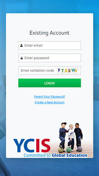 YCIS Application Procedure_Create Account