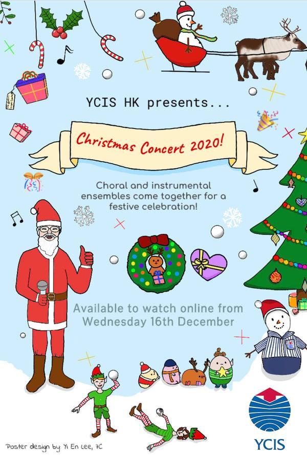 YCIS Christmas Concert 2020